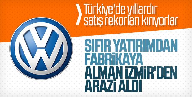 Volkswagen tercihini Türkiye'den yana kullanabilir