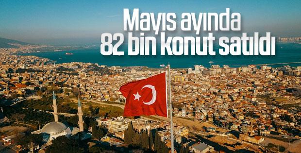 Mayıs ayı Türkiye konut satış istatistikleri