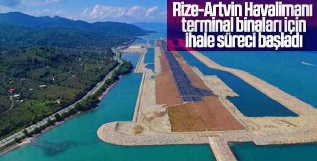 Rize-Artvin Havalimanı yeni ihaleye hazırlanıyor