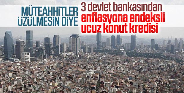 Devlet bankalarından yeni konut kredisi kampanyası