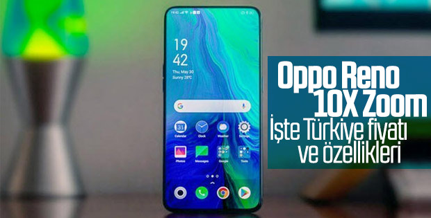 Oppo Reno 10x Zoom'un Türkiye fiyatı belli oldu