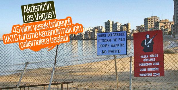 KKTC'de kapalı olan Maraş'ın açılması gündemde