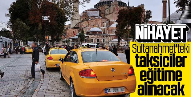 Taksicilere eğitim verilecek