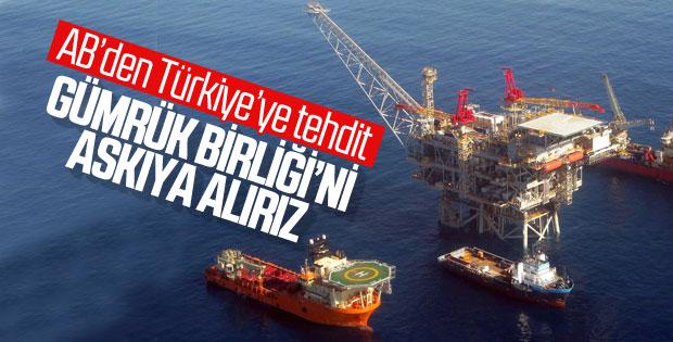 AB'den Türkiye'ye Doğu Akdeniz tehdidi