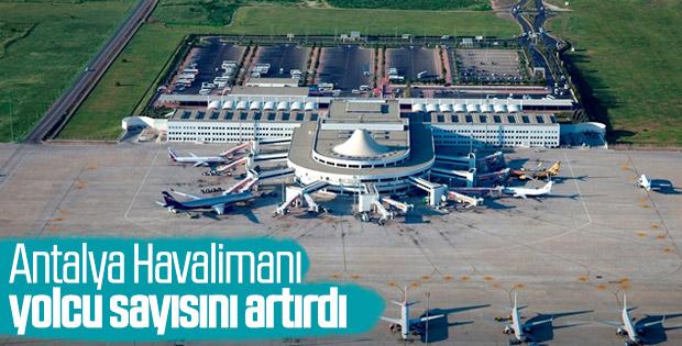 Yolcu sayısı en fazla artan havalimanı Antalya oldu
