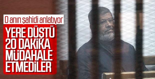 Mursi'nin mahkemesindeki görgü tanığı: Ölümünde ihmal var