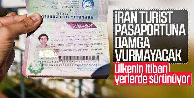 İran turistlerin pasaportuna mühür vurmayacak