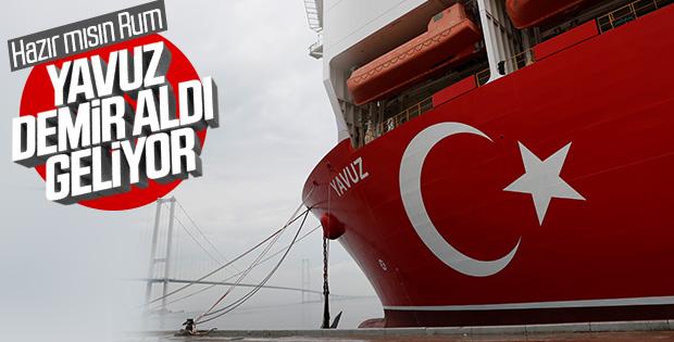 Türkiye'nin ikinci sondaj gemisi Yavuz yola çıktı
