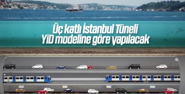 Üç katlı Büyük İstanbul Tüneli'nin projelendirmesi tamamlandı