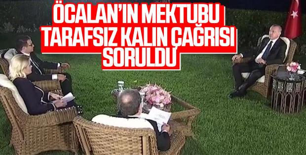 Erdoğan'dan İmralı'nın çağrısına ilk yorum