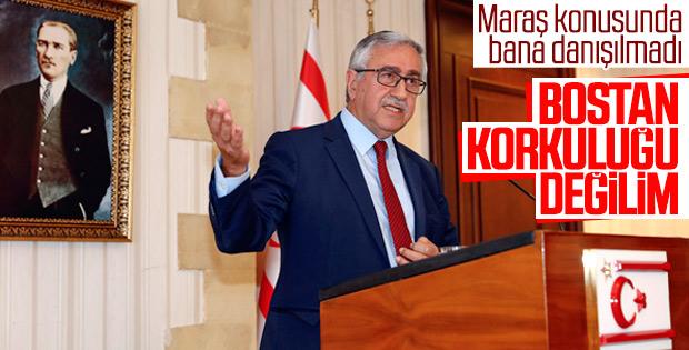 Maraş kararı, KKTC Cumhurbaşkanı Akıncı'yı rahatsız etti