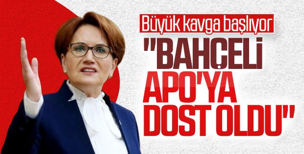 Meral Akşener'den Devlet Bahçeli'yi kızdıracak sözler