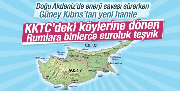 KKTC'ye yerleşecek Rumlara GKRY'den teşvik