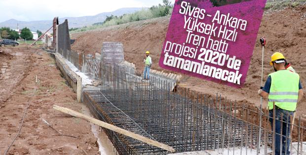 Sivas- Ankara arası 2 saate düşüyor