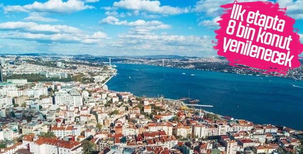 İstanbul'da kentsel dönüşüm çalışmaları hız kazandı