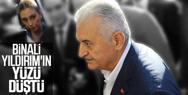 Binali Yıldırım AK Parti İl Başkanlığı'nda