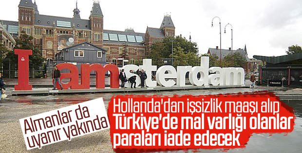 Türkiye'de mal varlığı olan Hollandalı göçmenlere kötü haber