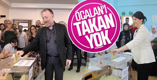 HDP'li Sezai Temelli  ve Pervin Buldan oyunu kullandı