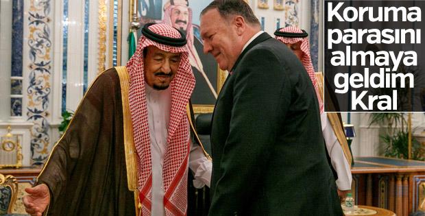 ABD, Körfez devletlerinden koruma parası istedi