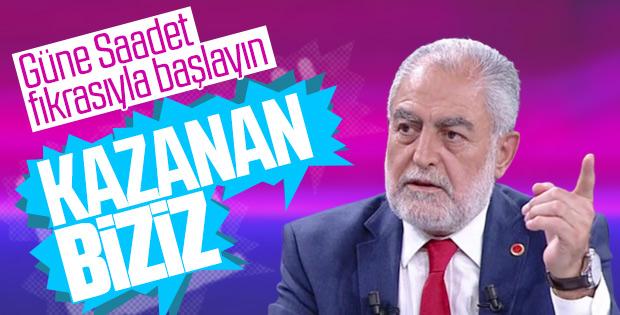 47 bin oy alan Saadet Partisi adayından açıklama