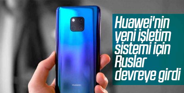 Huawei, akıllı telefonlarında Rus işletim sistemi kullanabilir