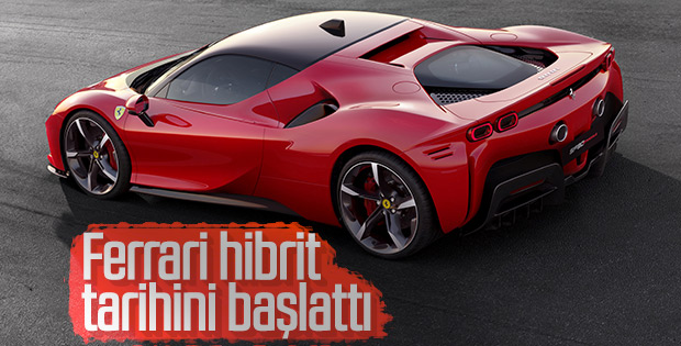 Ferrari SF90 Stradale, hibrite geçiş yaptı