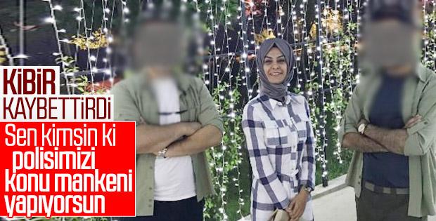 AK Partili kadın başkan polisleri 'konu mankeni' yaptı