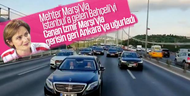 Canan Kaftancıoğlu'ndan Bahçeli'ye Mehter Marşı göndermesi