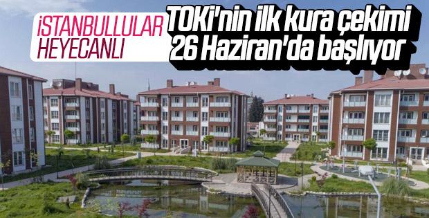 TOKİ'nin İstanbul hazırlığı