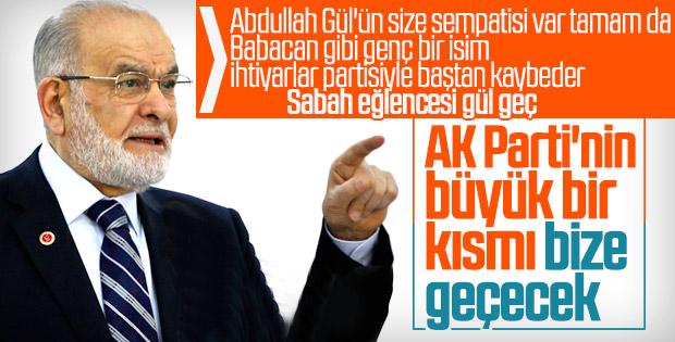 Temel Karamollaoğlu: AK Partililere kapımız açık