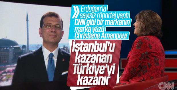 Ekrem İmamoğlu Amanpour'a konuştu
