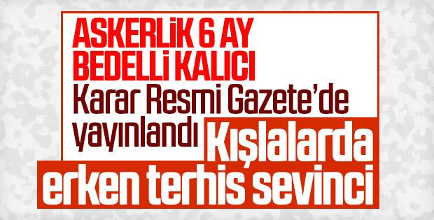 Askerlik kanunu Resmi Gazete'de