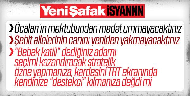 Fatma Barbarosoğlu, Öcalan stratejisine isyan etti