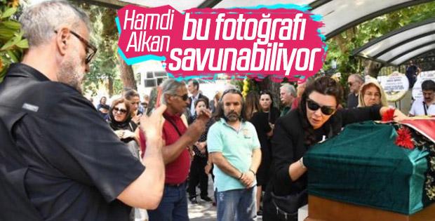 Hamdi Alkan'dan olay yaratan fotoğraf açıklaması