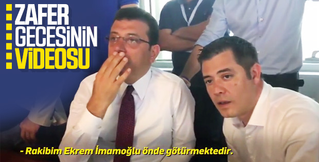 Ekrem İmamoğlu 23 Haziran gecesinden video paylaştı