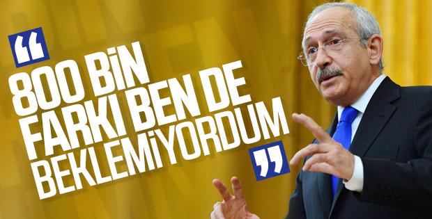 Kılıçdaroğlu'ndan seçim sonuçları açıklaması