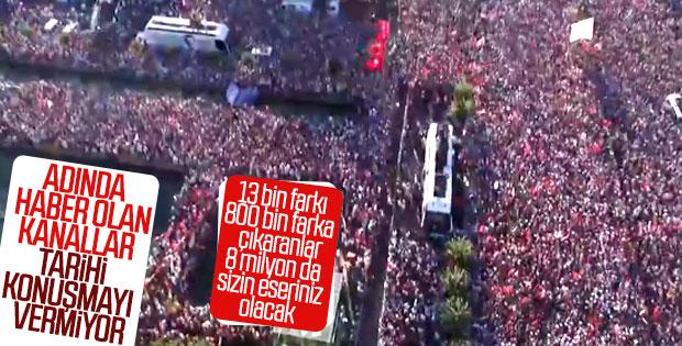 Haber kanalları İmamoğlu'nun konuşmasını yayınlamadı