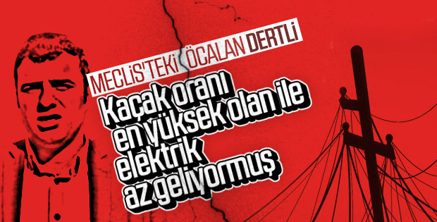 Ömer Öcalan'a göre Şanlıurfa'da elektrik sorunu var