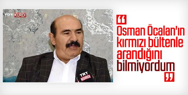 Erdoğan: Osman Öcalan'ın kırmızı bültenle arandığını bilmiyorum