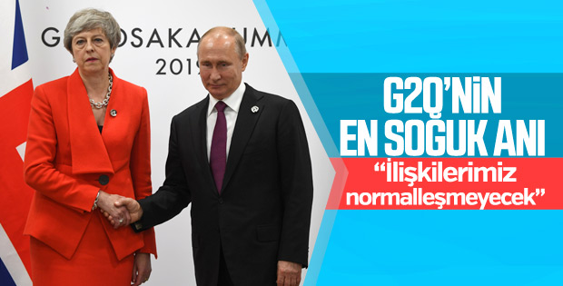 G20'de May Putin'e sert mesajlar verdi