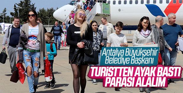 CHP'li Başkan: Turistten ayak bastı parası alınmalı