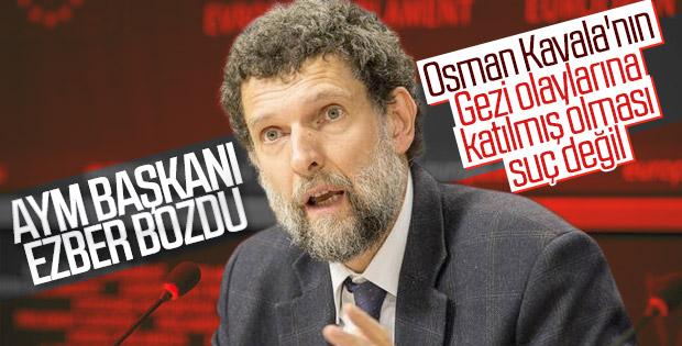 AYM Başkanı'nın Osman Kavala açıklaması