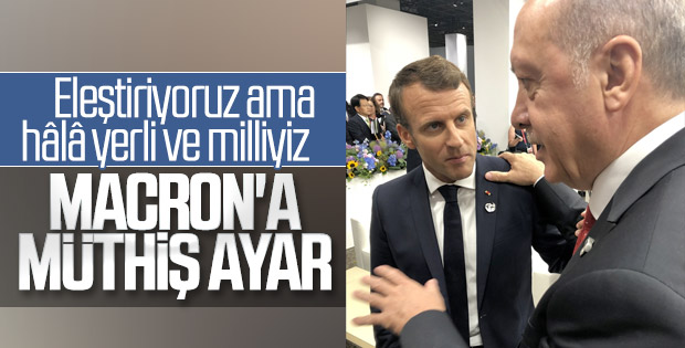 Macron, Erdoğan karşısında ezik kaldı