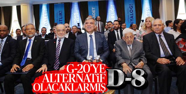 Abdullah Gül, Saadet Partisi'nin etkinliğinde