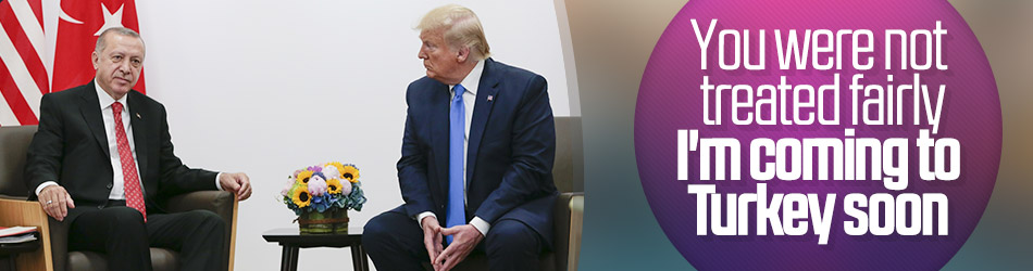 President Erdoğan meets with Trump