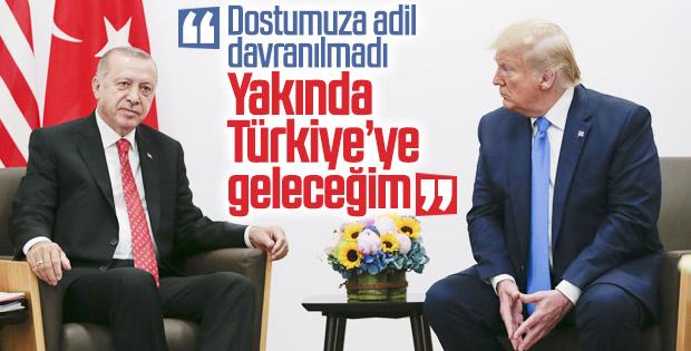 Cumhurbaşkanı Erdoğan ile Trump, G20 zirvesinde buluştu
