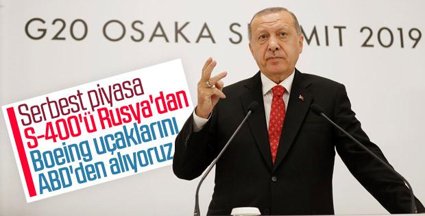 Cumhurbaşkanı Erdoğan G-20 Zirvesi'ni değerlendirdi