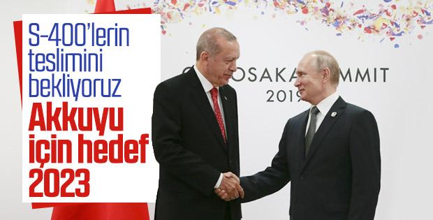 Cumhurbaşkanı Erdoğan ile Putin, G20 zirvesinde buluştu