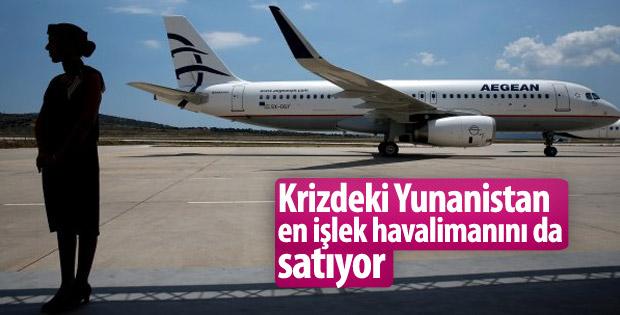 Yunanistan'ın en işlek havalimanı özelleşiyor