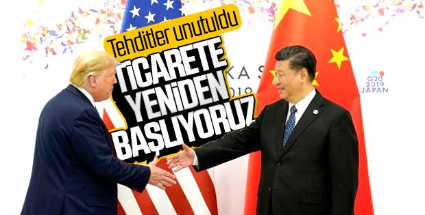 Çin ve ABD arasındaki ticaret yeniden başlıyor